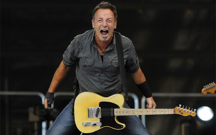 "Bruce ""the boss"" Springsteen"